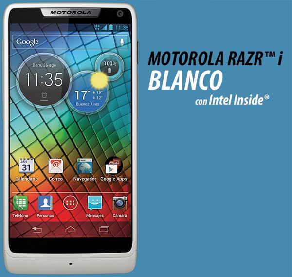 Motorola Razr i Blanco