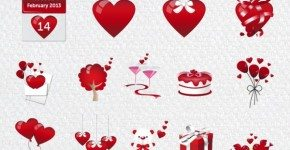 Free Valentines Icon Set