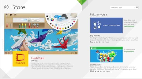 Windows 8.1 Preview - Windows Store