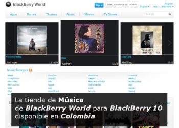 BlackBerry World Music