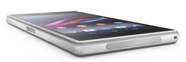 Sony Xperia Z1 - Diseño