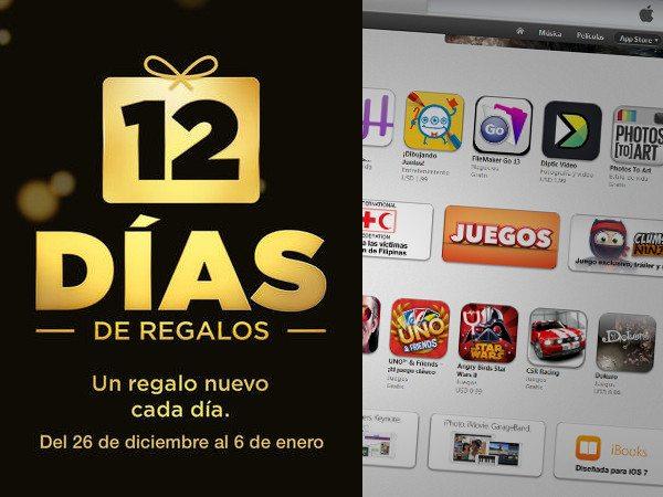 12 días de regalos en el Apps Store