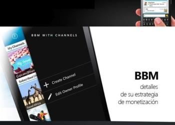 BBM detalles de su estrategia de monetización