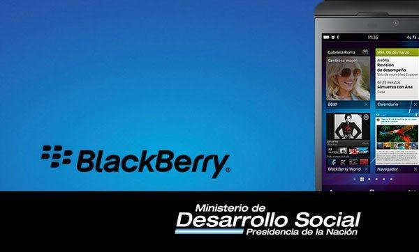 BlackBerry - Ministerio de Desarrollo Social Argentino