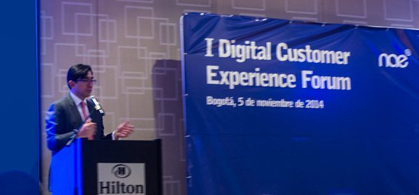 1 Digital Customer Experience Forum - Ministro TIC Diego Molano Vega