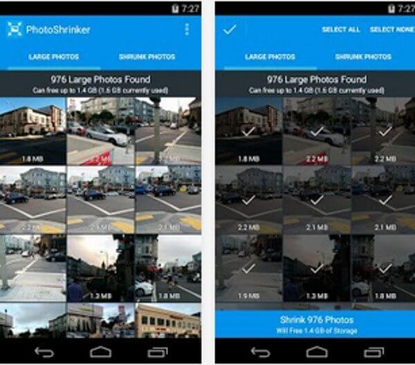 PhotoShrinker para Android