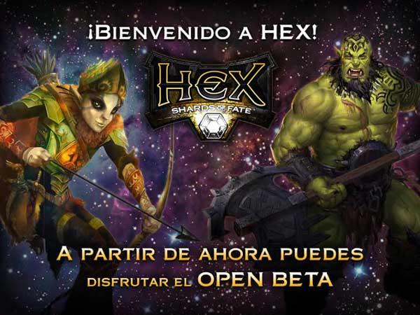 HEX-OPEN-BETA Hex: Shards Of Fate - Disponible en Open Beta