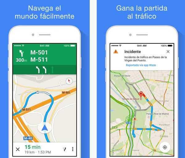 Google Maps para iOS