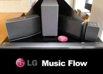 Music Flow sistema de audio inteligente para el hogar