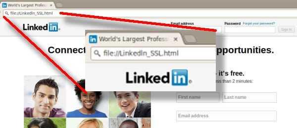 linkedin-fake-home Usuarios de LinkedIn afectados por falsa actualización de seguridad