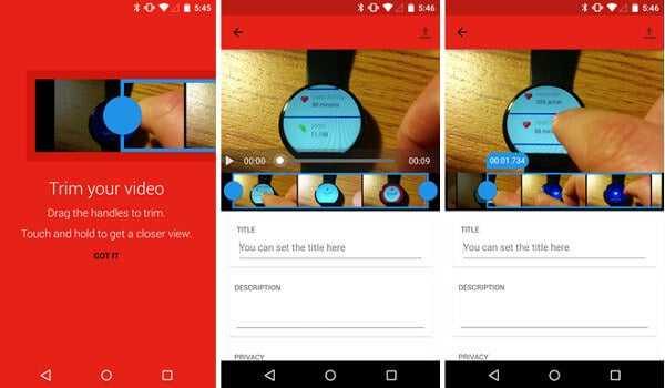 youtube YouTube se actualiza para Android eincorpora el recorte de videos de forma online