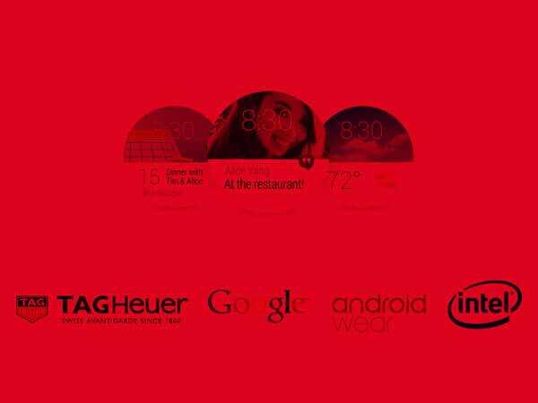 Relojes inteligentes - TAG Heuer, Google e Intel
