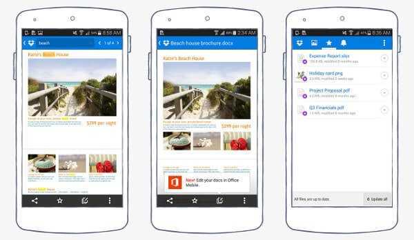 dropbox Descubre cómo sacarle el mayor provecho a Dropbox desde tu Android