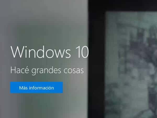 Ya disponible Microsoft Windows 10