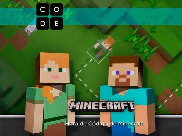 El tutorial 'Minecraft' Hora del Código tiene como objetivo introducir a millones de jóvenes a la creatividad de la informática