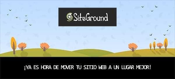 Siteground Hosting - Promo migración