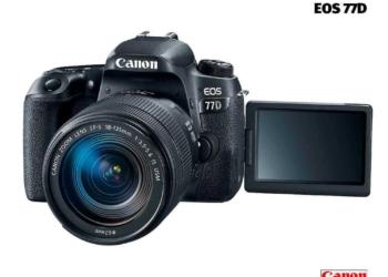 Camara Canon EOS 77D
