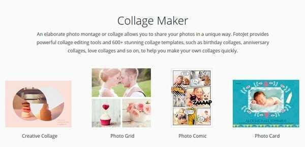 fotojet-callage-maker-600x290 Diseña, crea collage de imágenes y edita fotos con Fotojet