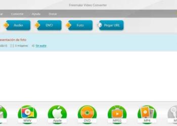 Freemaker - editor y convertidor de videos