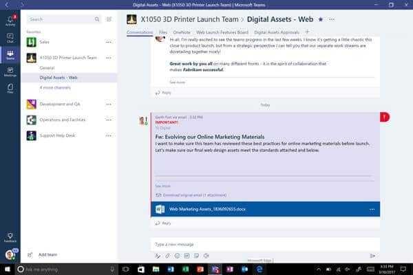 microsoft-team-600x400 Microsoft Teams disponible para usuarios de Office 365 en el mundo