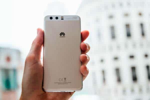 Huawei P10 - en mano