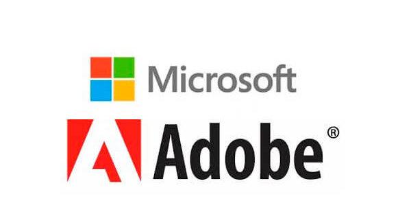 Alianza entre Microsoft y Adobe