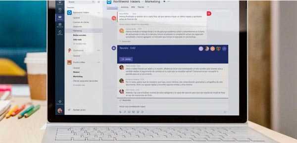 Microsoft Teams para usuarios de Office 365 a nivel mundial