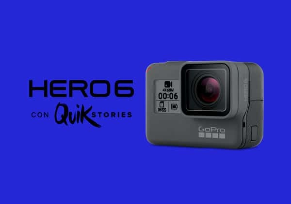 HERO6 con Quick Stories