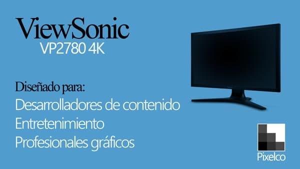 Monitor 4k - ViewSonic