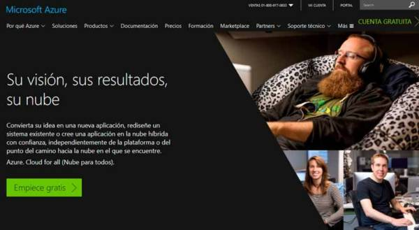 Microsoft Azure - Transformación Digital