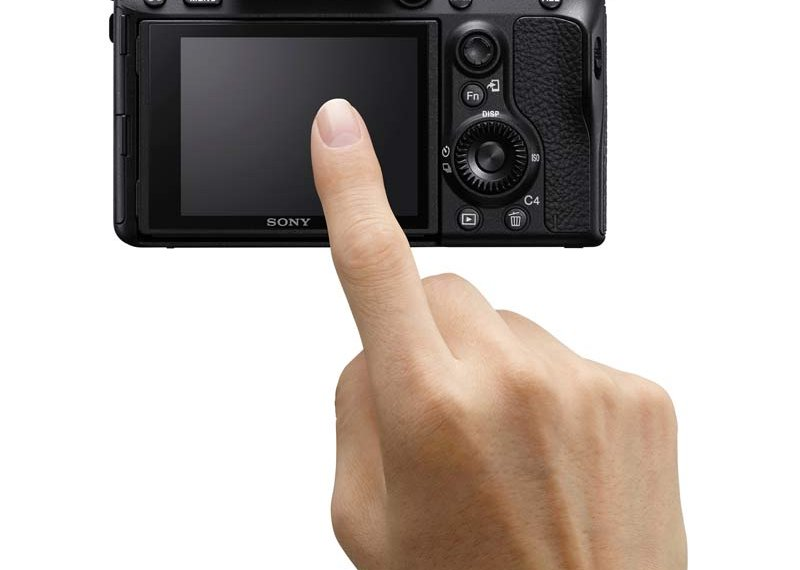 Pantalla touch de la Sony A7 III