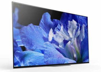 Nuevo televisor Sony Bravia A8F