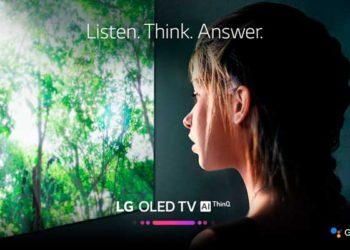 LG TV Google Assistant - Búsqueda por voz