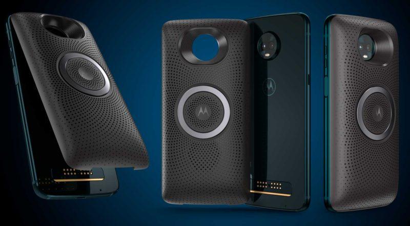 Moto Stéreo Speaker - Moto Z3 Plus