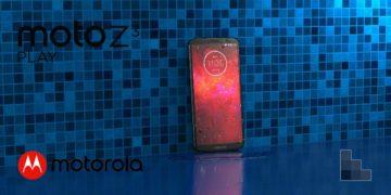 Moto Z3 Play - Deep Indigo