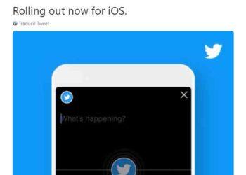 Twitter - Ya pemite transmisiones de audio