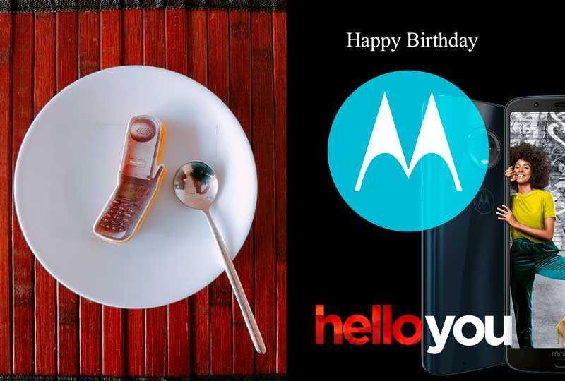 Motorola cumple 90 años - Happy Birthday Motorola