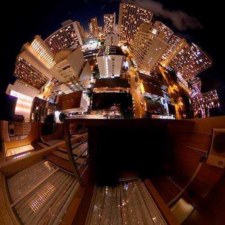 Fototo 360º tomada con la cámara Ricoh Theta V