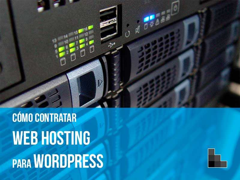 Guía web hosting WordPress