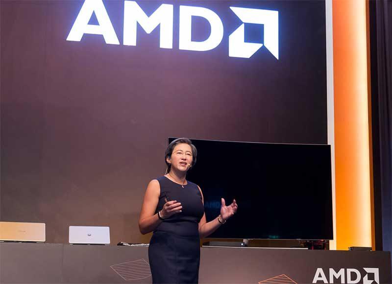 Lisa Su, presidenta de AMD en el CES 2019