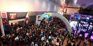 CES 2019 - Entrada, participantes entrando al evento