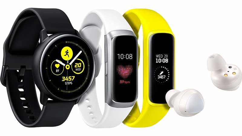 Samsung Galaxy Watch Active, Fit, Buds