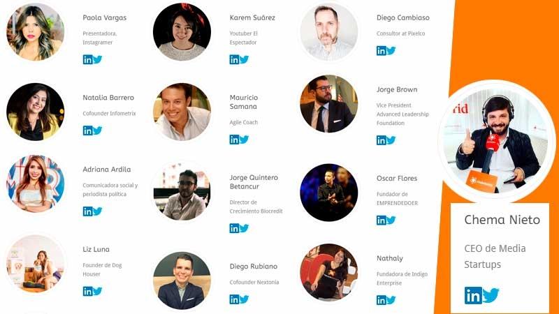 Media Startups Bogotá - Participantes