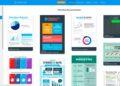 Venngage - Herramienta online - Interfaz