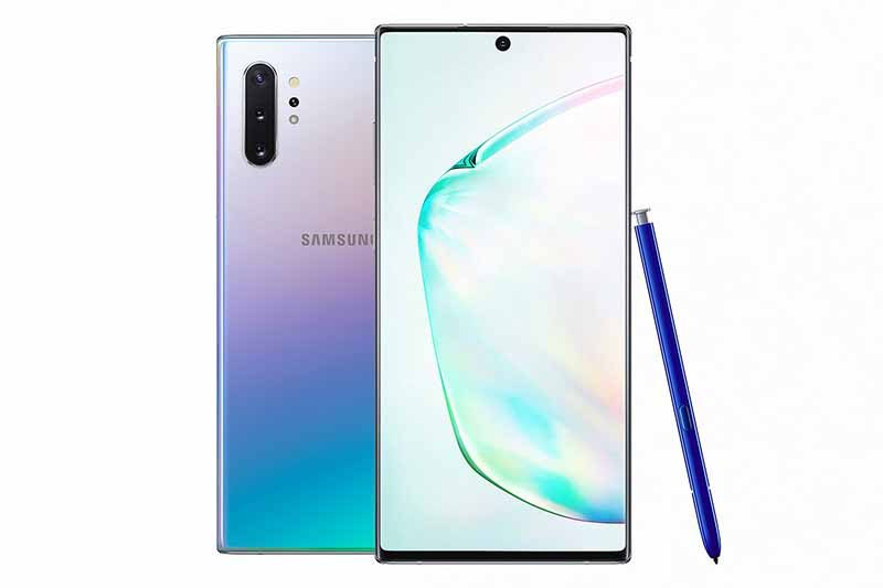 Galaxy Note 10 Aura GLow