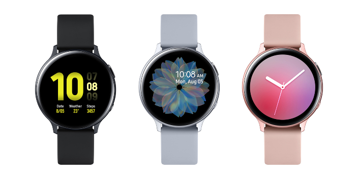 Diseños de los Galaxy Watch Active 2