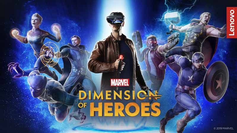 Marvel - Dimension of Heroes