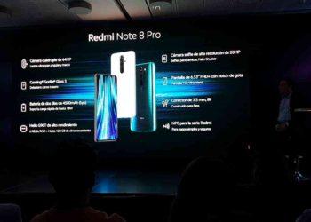 Presentación del Redmi Note 8 Pro