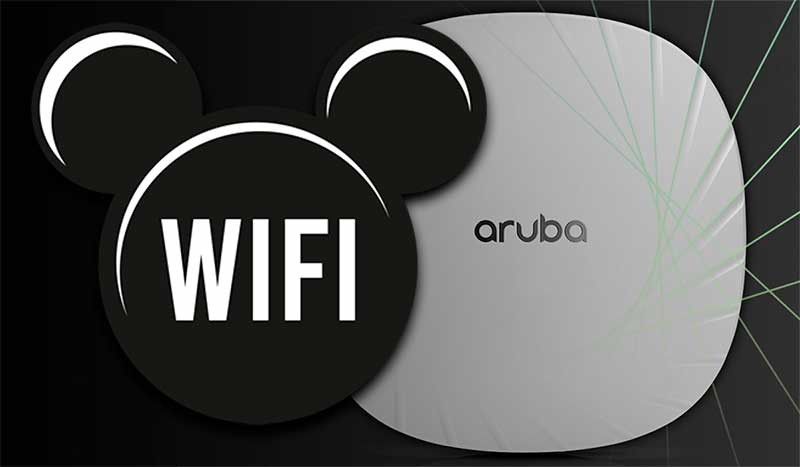 Aruba Wi-Fi ayuda a Walt Disney World Resort a mejorar su experiencia