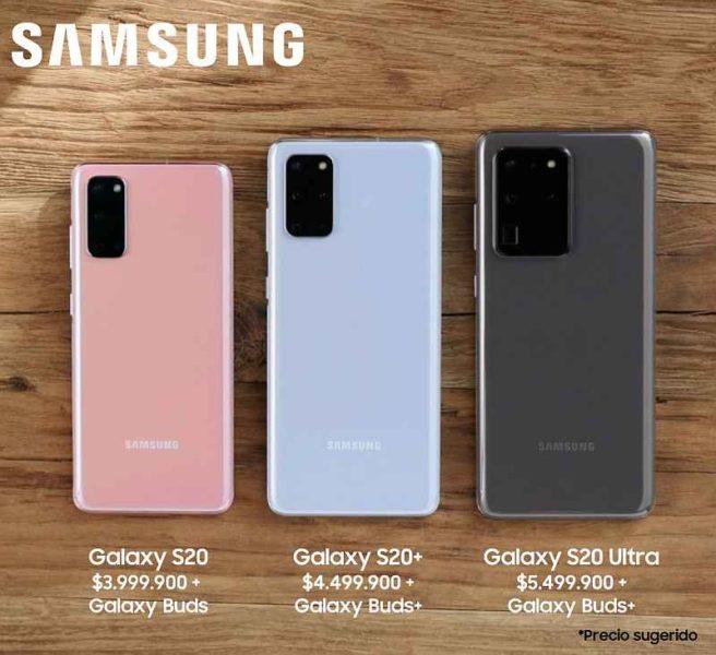 Familia Galaxy S20